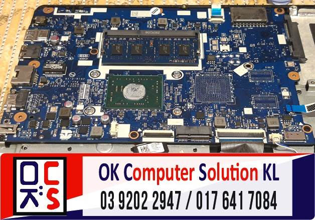 [SOLVED] MASALAH LAPTOP LENOVO IDEAPAD 110-1 | REPAIR LAPTOP AMPANG 4