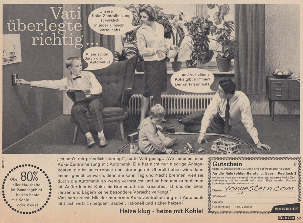 vongestern blog koks ist krisenfest 1962. Black Bedroom Furniture Sets. Home Design Ideas