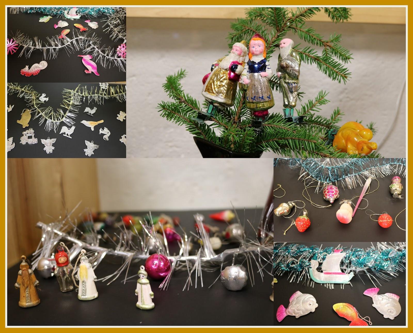 216563021ff Näitusel on näpitsjalgadega nääriehted (valmistatud1950-60), miniatuursed  klaasist ja plastmassist ehted (valmistatud 1960-70), vormpressitud paberist  ...
