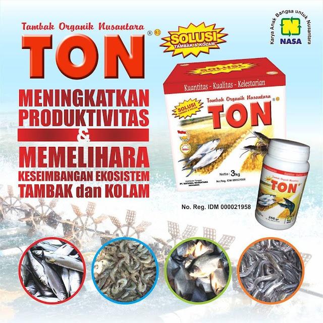 Tambak Organik Nusantara(TON) - Pupuk Organik Khusus Tambak Untuk Memperbaiki Kondisi Tambak