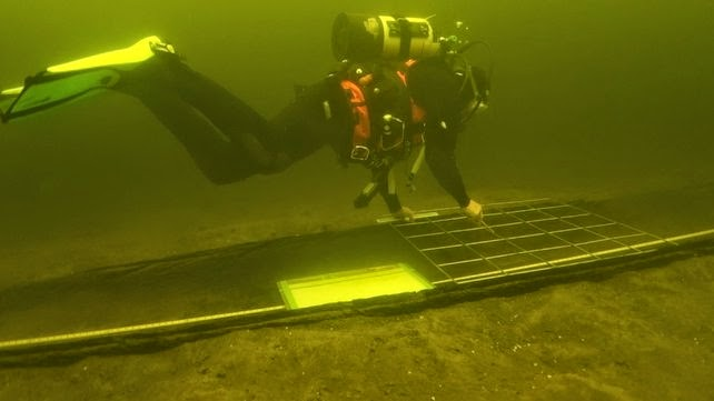 Viking artefacts, logboats found in Irish lake