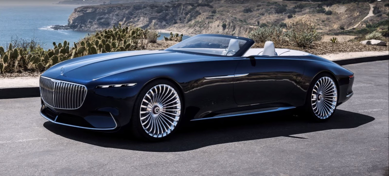 2018 Vision Mercedes Maybach 6 Cabriolet Interior Exterior And Drive