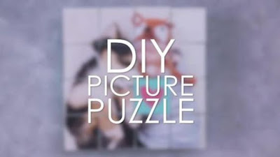 DIY puzzle for Mother's Day, Gifts or Home. Use Favorite Photos