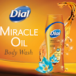 New Dial Miracle Oil Body Wash