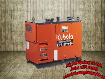 Máy phát điện Kubota 12.5kva KJ-S130VX