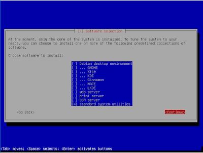 Packet Installasi Debian 8