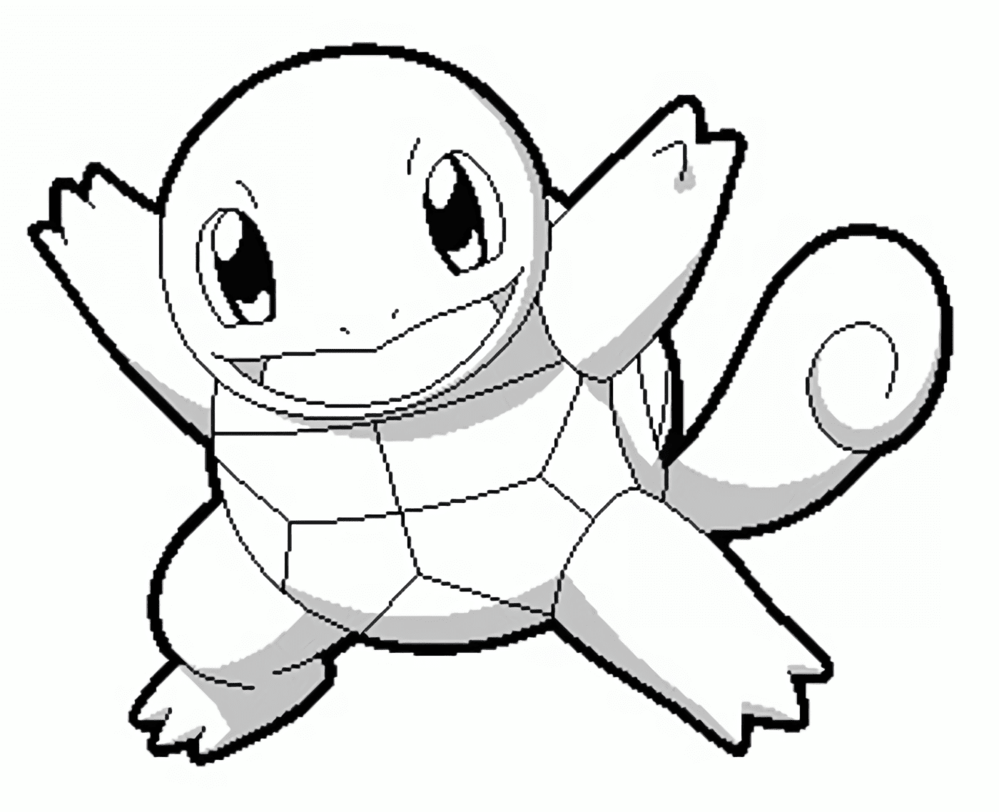New Squirtle Coloring Pages Download - Free Pokemon Coloring ...