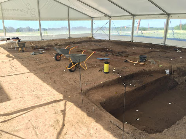 Breakthrough in dating Viking fortress