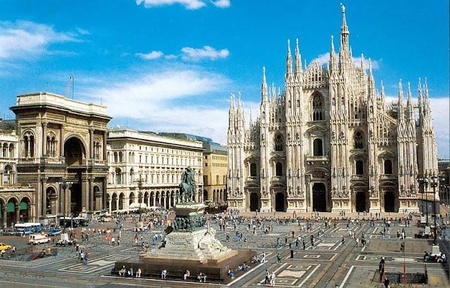 Duomo de Milão na Itália