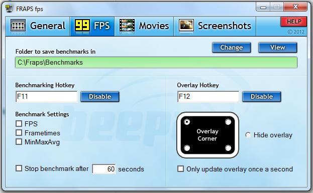 Fraps V.3.5 Descargar 1 Link 2012 Saca las Mejores Capturas de tus Juegos