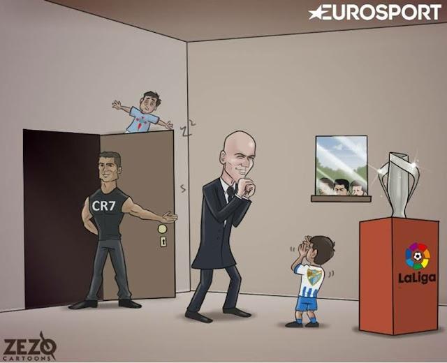 El Real Madrid a un paso del título de Liga 2017