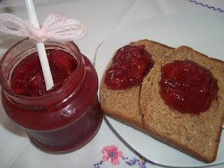 Mermelada de fresas apta para diabéticos