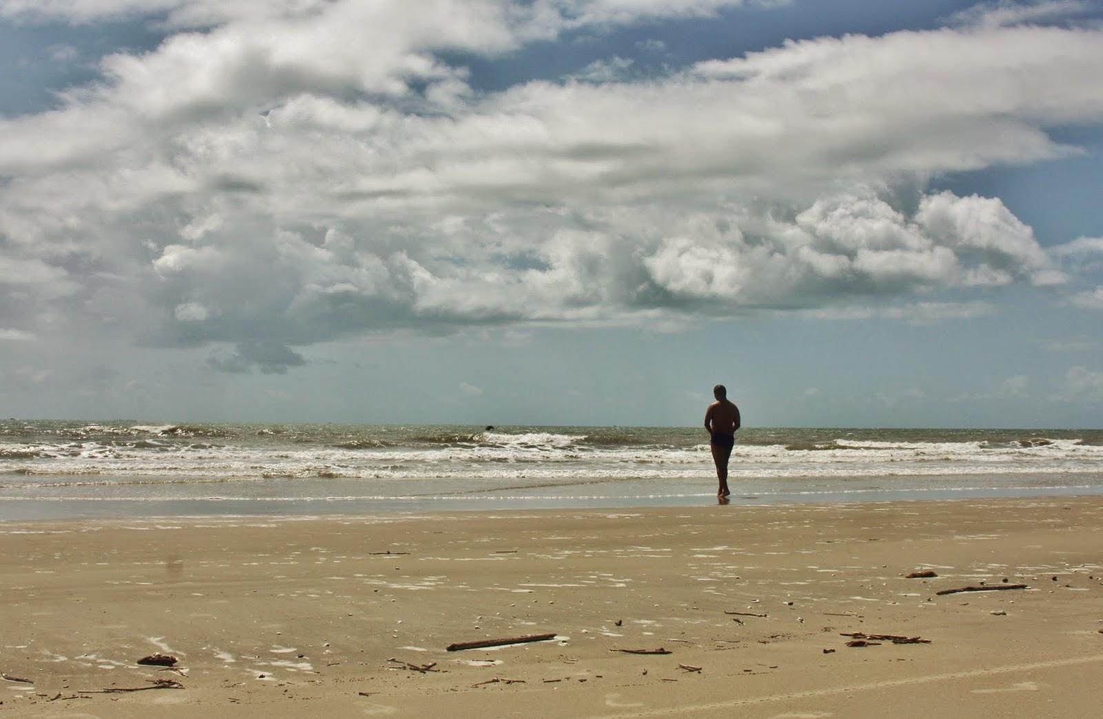 Praia de Carimã, na Raposa, num bate-e-volta a partir de São Luis