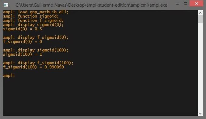 ComputSimu: creating shared library AMPL