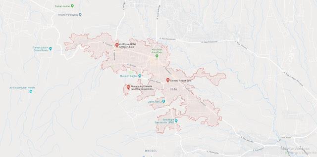 Area Layanan Rental Proyektor Batu Malang