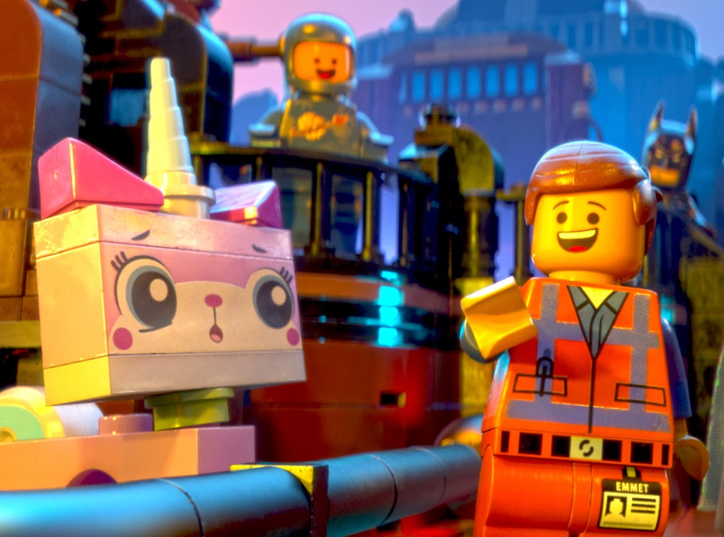 At The Back: The LEGO Movie