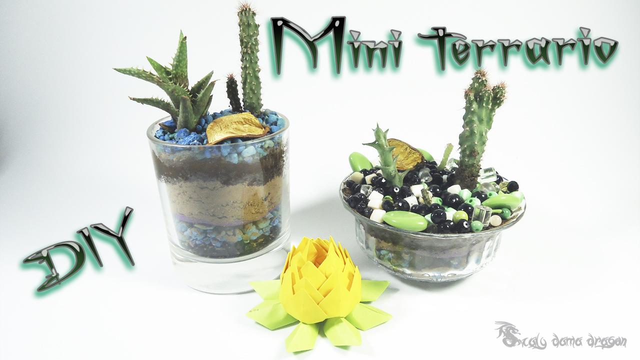 Como hacer un mini terrario diy craft mil ideas scaly - Plantas para terrarios ...
