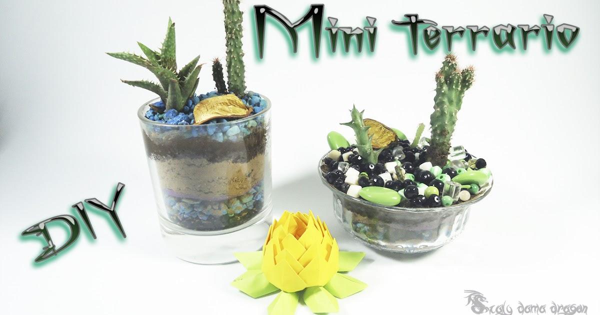 Como hacer un mini terrario diy craft mil ideas scaly - Como construir un terrario ...