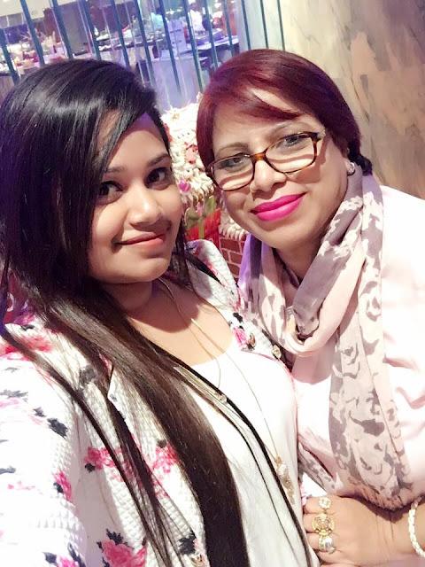 Bidya Sinha Saha's Mother Chobi Saha and Sister Progga Sinha Saha Momi