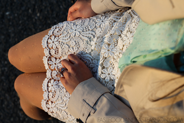 Swiss Dots + Crochet