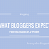 What Bloggers Expect from Blogger Platform ?