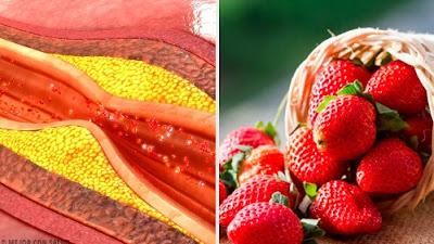 fraises pour réguler le cholestérol