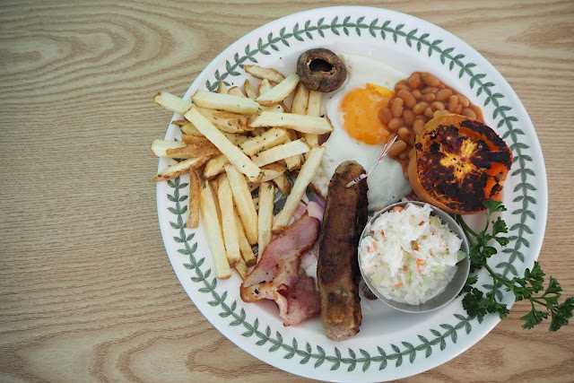The Plate Big English Breakfast Review Gamcheon Cultural Village Busan