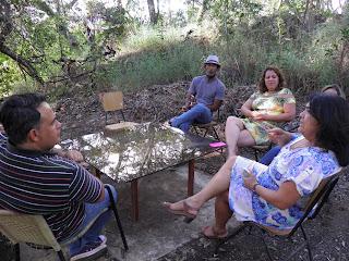 Administração do Riacho Fundo II visita a vila arco iris da Universidade da Paz