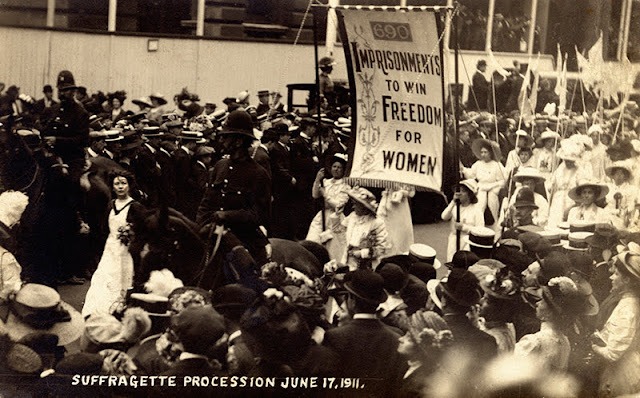 Suffragette Procession 17 June 1911