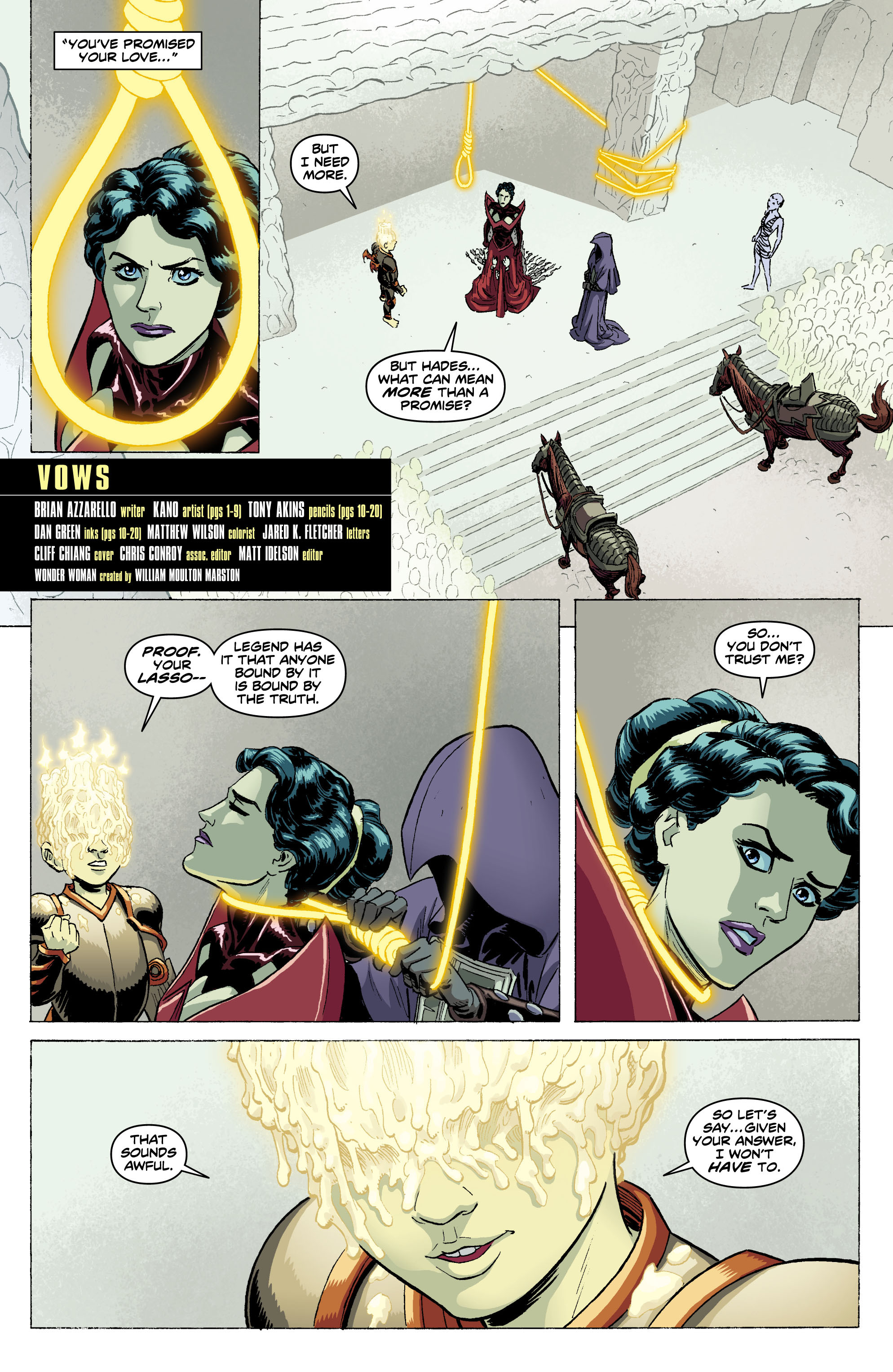 Read online Wonder Woman (2011) comic -  Issue #10 - 2