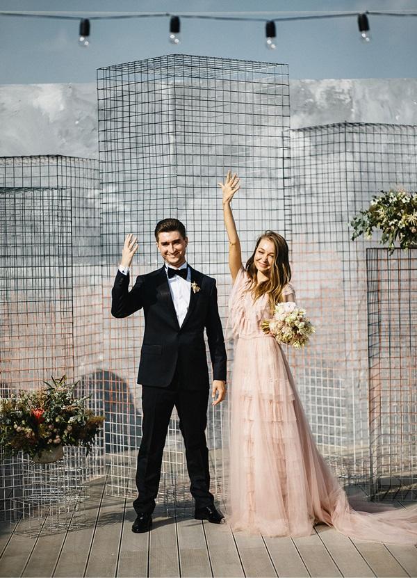 Boda Rusia recien casados