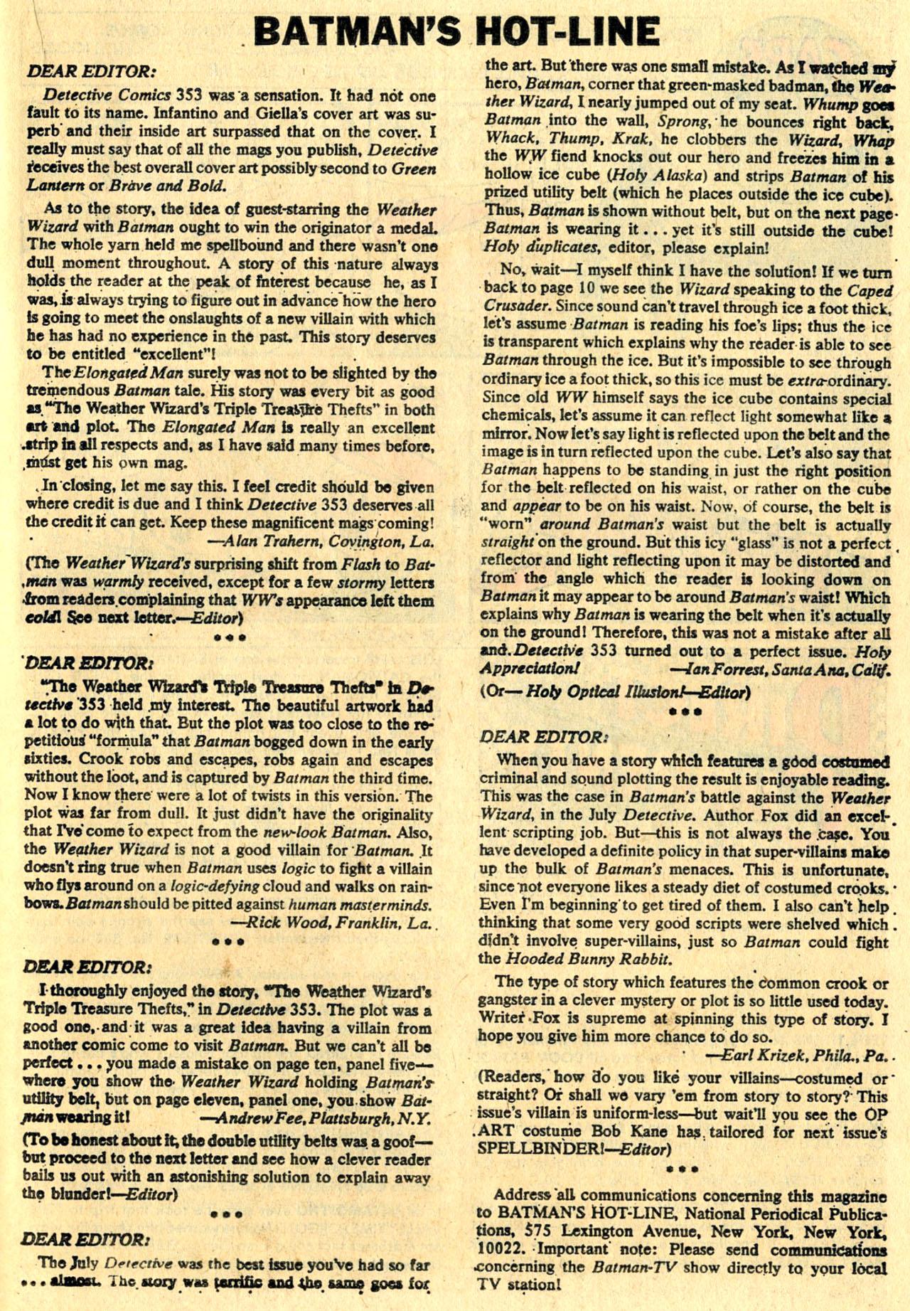 Detective Comics (1937) 357 Page 20