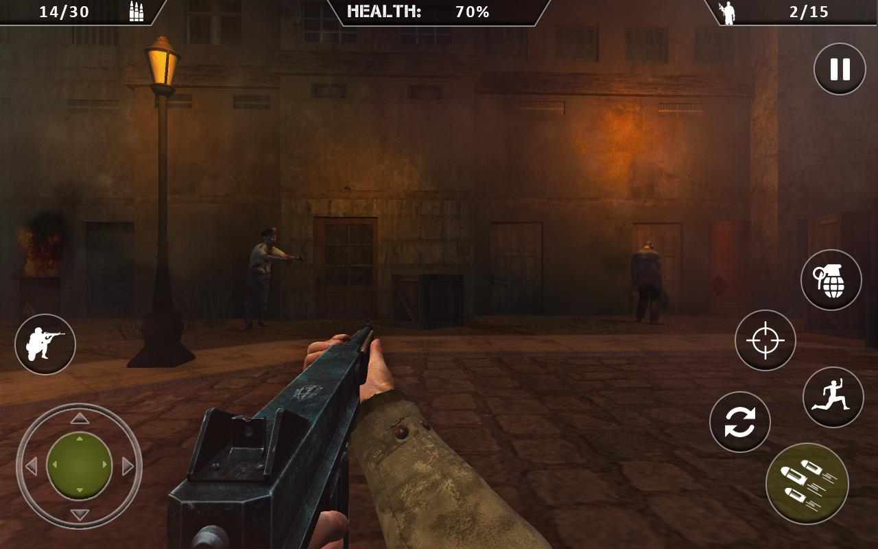 WWII Zombies Survival World War Horror Story MOD APK terbaru