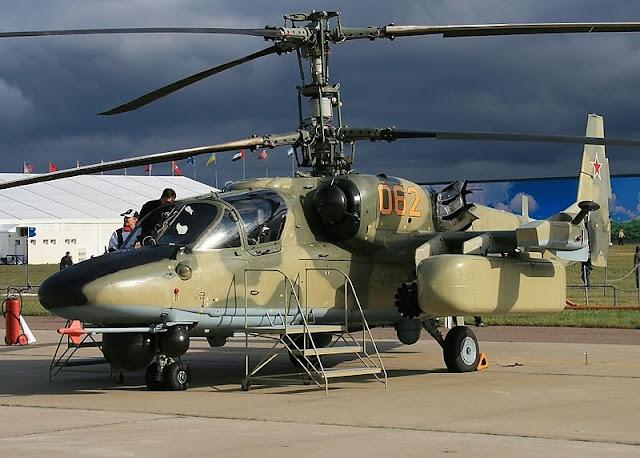 Gambar 18. Foto Helikopter Tempur Kamov Ka-52 Alligator