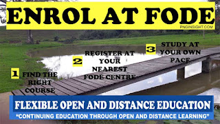 How to enrol at FODE