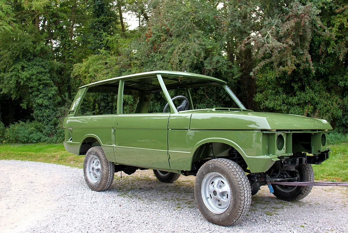 Mitchell Motors Early Range Rover Three Door Gets A Full