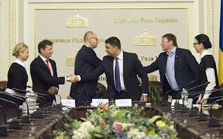Ukrajnai parlamenti koalíciós tárgyalások