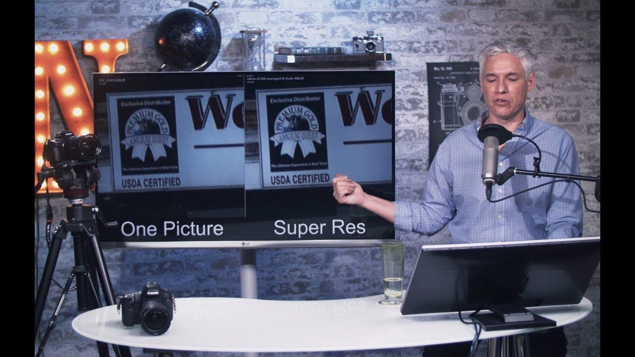 SUPER RESOLUTION: Get More Megapixels! (Free Photoshop Action)