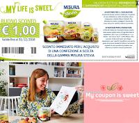 Logo Buono sconto Misura e vinci prodotti Weleda e non solo
