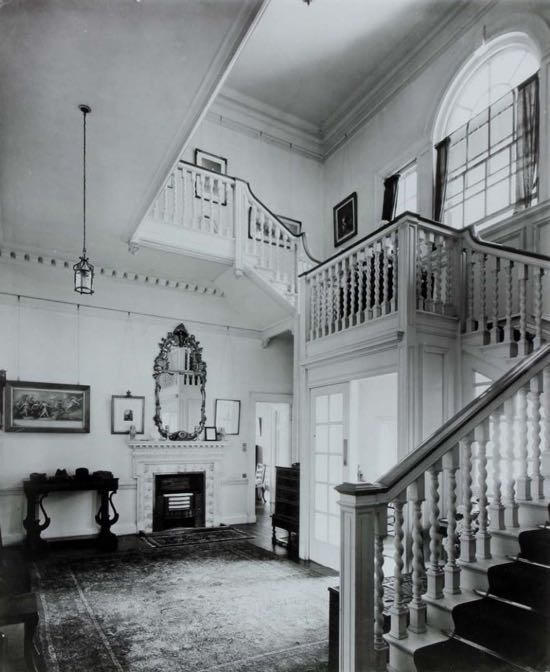 Image: Fig 11: The grand staircase hall at Potterells