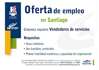 ministerio de trabajo vacantes