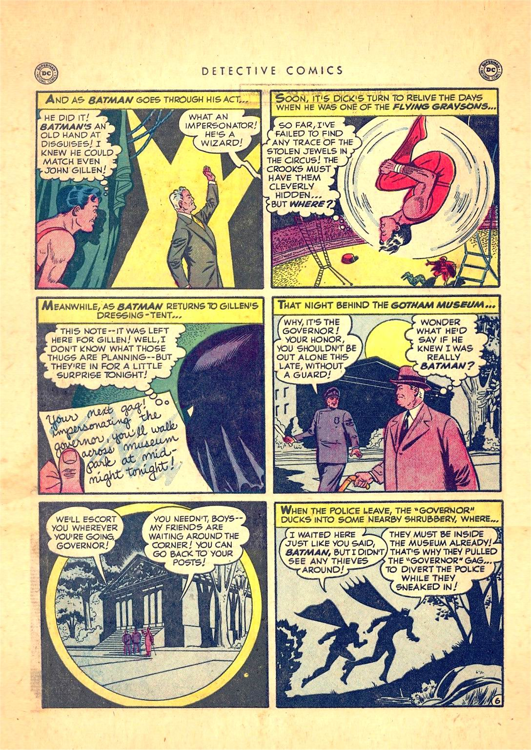 Read online Detective Comics (1937) comic -  Issue #166 - 8