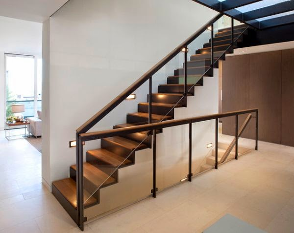 Cool Indoor Stair Lighting Ideas