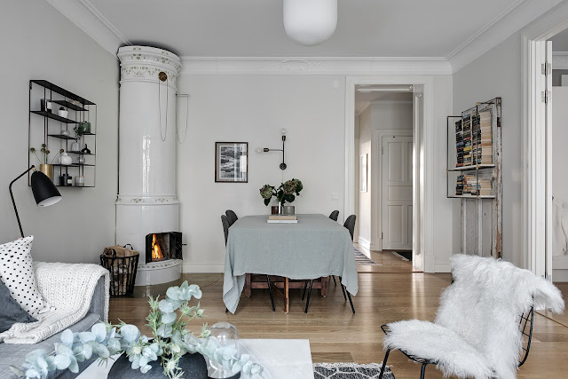 Fantastic and stylish scandinavian interior