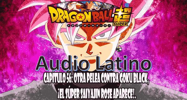 Ver capitulo 56 en audio latino online, en el futuro, Son Goku es atacado por unos rebeldes porque lo confunden con Black.
