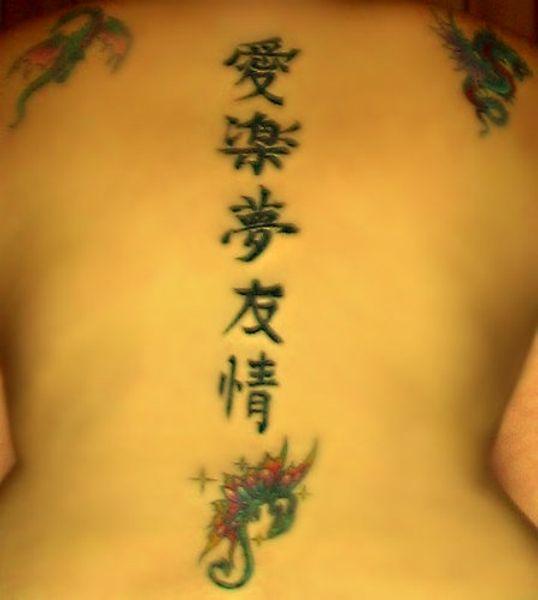 Tatuaże Wzory Chińskie Znaki Wzory Tatuaży