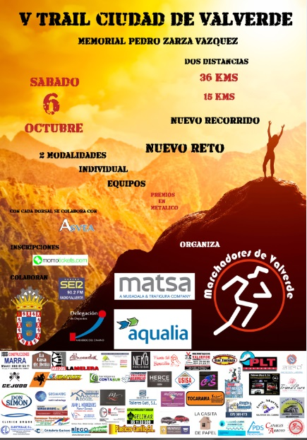 V Trail Ciudad de Valverde