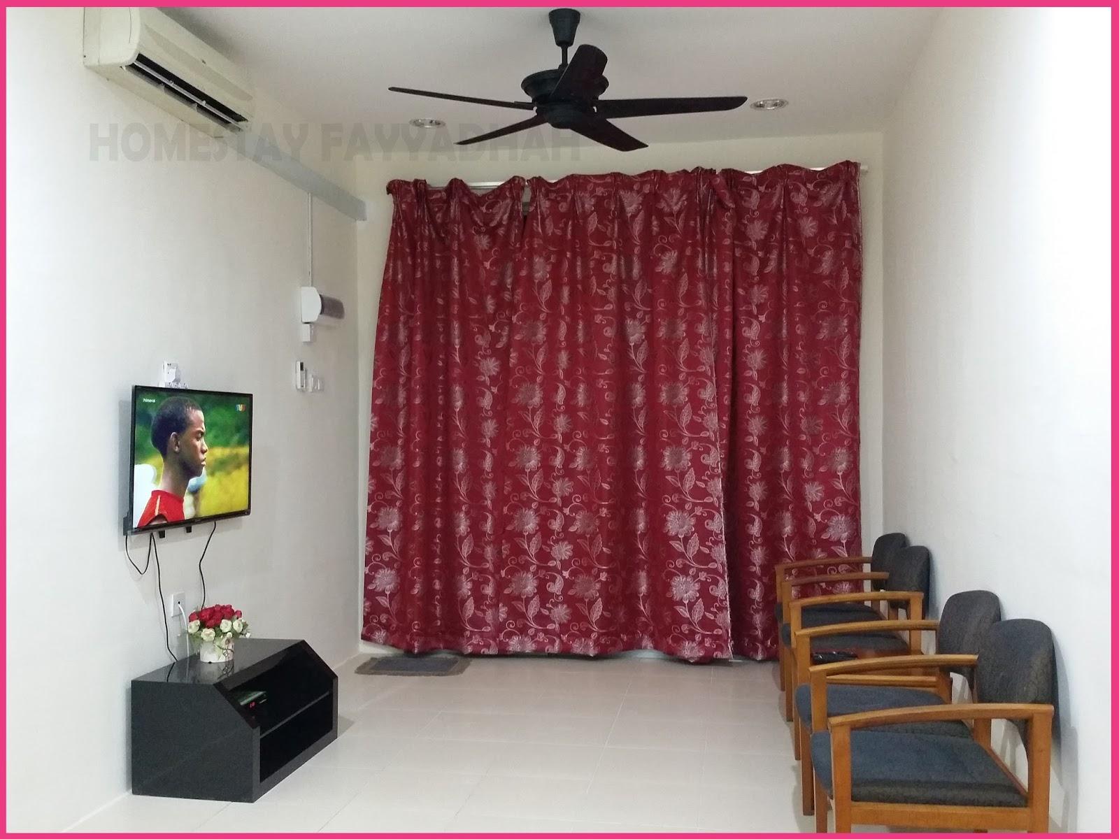 Ruang Tamu November 2017 Homestay Fayyadhah Kuantan