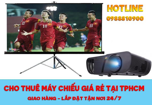 Cho thuê máy chiếu, màn chiếu tại TpHCM gọi 0902 009 008