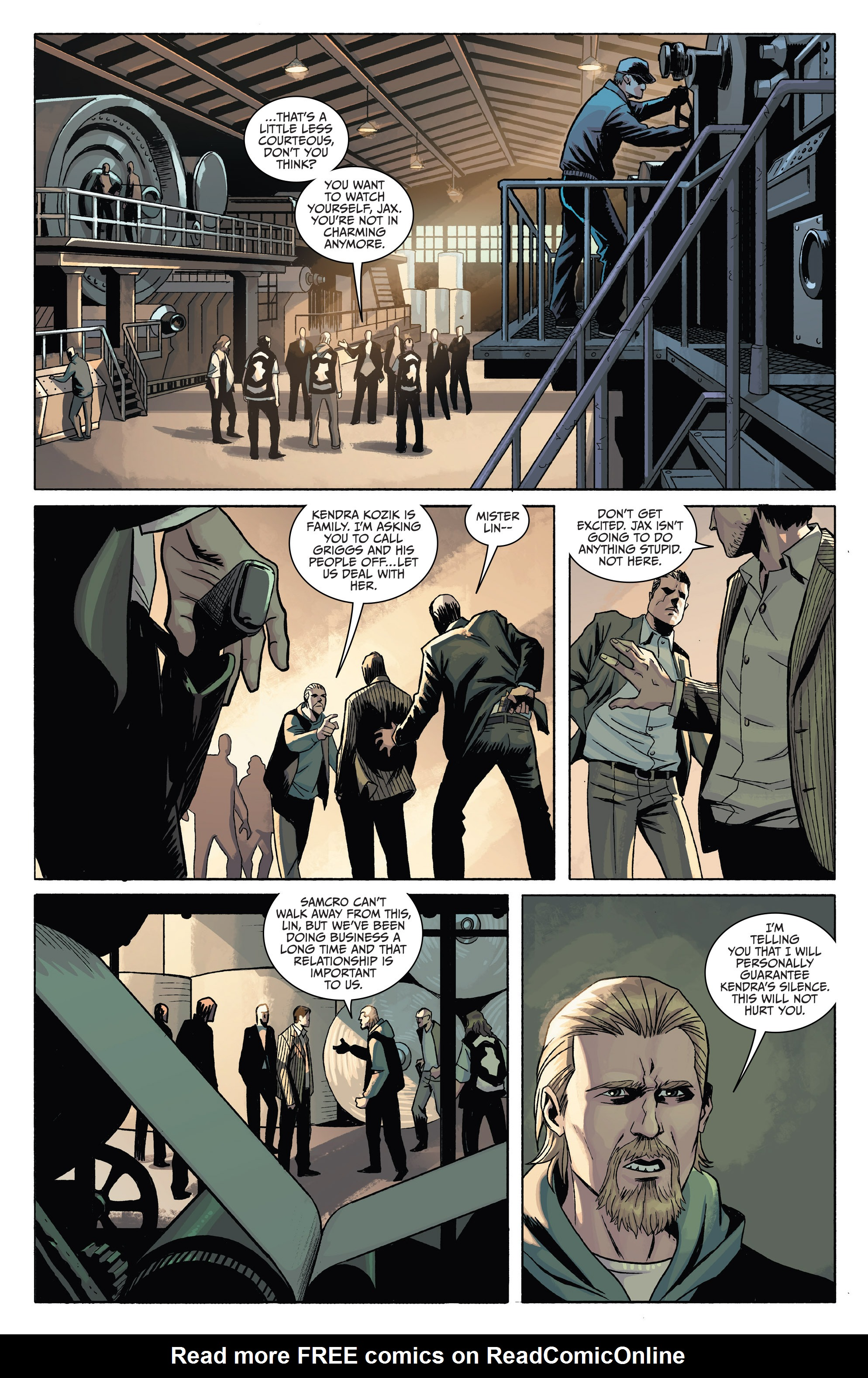Read online Sons of Anarchy comic -  Issue #4 - 7